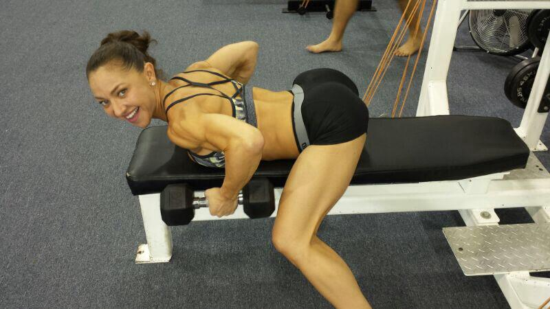 Charina Fargesen gym